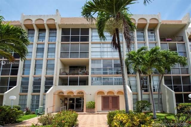 601 Three Islands Blvd #310, Hallandale Beach, FL 33009 (MLS #A10857896) :: Berkshire Hathaway HomeServices EWM Realty