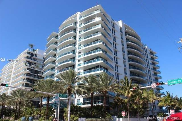 9401 Collins Ave #203, Surfside, FL 33154 (MLS #A10858261) :: Re/Max PowerPro Realty