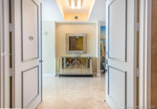 18101 Collins Ave #4608, Sunny Isles Beach, FL 33160 (MLS #A10858578) :: Berkshire Hathaway HomeServices EWM Realty