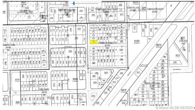120 ave SW 217 Street, Goulds, FL 33170 (MLS #A10858905) :: The Teri Arbogast Team at Keller Williams Partners SW