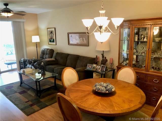 7765 Yardley Drive #101, Tamarac, FL 33321 (MLS #A10858924) :: Green Realty Properties