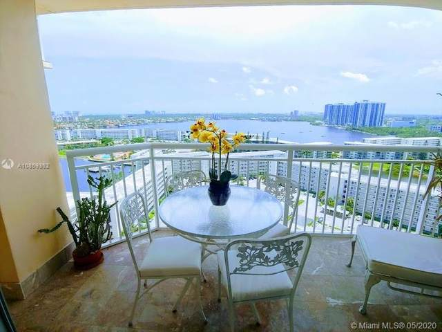 18031 Biscayne Blvd #1904, Aventura, FL 33160 (MLS #A10859352) :: Green Realty Properties