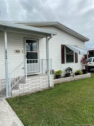 18734 SW 349 Street Lot 439, Homestead, FL 33034 (MLS #A10859849) :: The Teri Arbogast Team at Keller Williams Partners SW