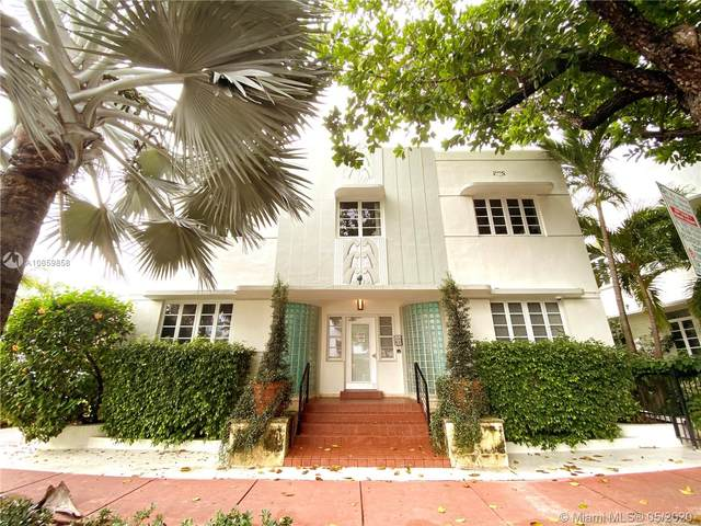 359 Meridian Ave A-104, Miami Beach, FL 33139 (MLS #A10859858) :: The Paiz Group