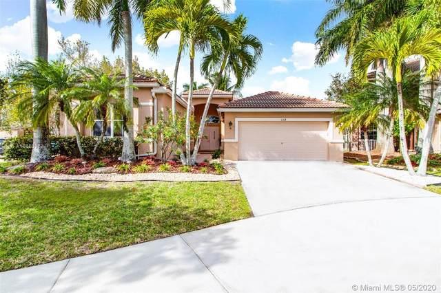 1164 Chenille Cir, Weston, FL 33327 (#A10859972) :: Real Estate Authority