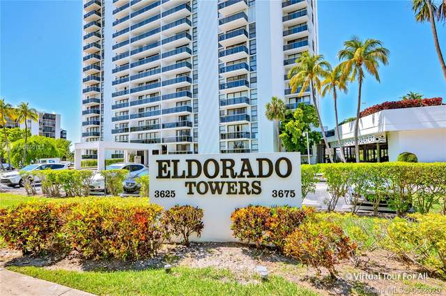 3675 N Country Club Dr #1102, Aventura, FL 33180 (MLS #A10860122) :: The Jack Coden Group