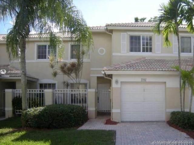 2207 NW 171st Ter #2207, Pembroke Pines, FL 33028 (MLS #A10860235) :: Green Realty Properties