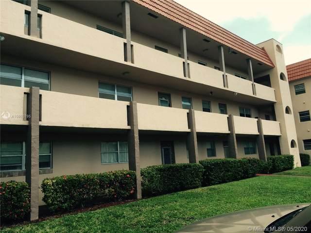 2931 E Sunrise Lakes Dr E #203, Sunrise, FL 33322 (MLS #A10860795) :: Berkshire Hathaway HomeServices EWM Realty