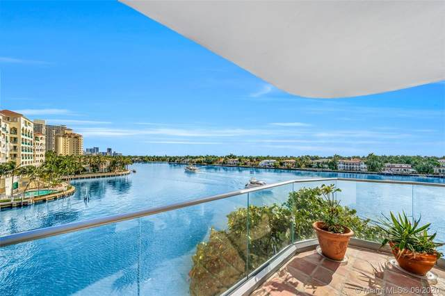 19707 Turnberry Way 5J, Aventura, FL 33180 (MLS #A10862302) :: ONE Sotheby's International Realty