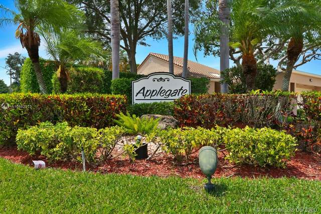 11210 Applegate Cir #11210, Boynton Beach, FL 33437 (MLS #A10862313) :: THE BANNON GROUP at RE/MAX CONSULTANTS REALTY I