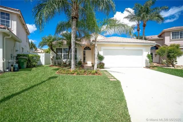 1347 SW 181st Ave, Pembroke Pines, FL 33029 (MLS #A10862357) :: ONE Sotheby's International Realty
