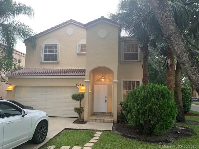 503 NW 87th Ln, Coral Springs, FL 33071 (MLS #A10862551) :: Re/Max PowerPro Realty