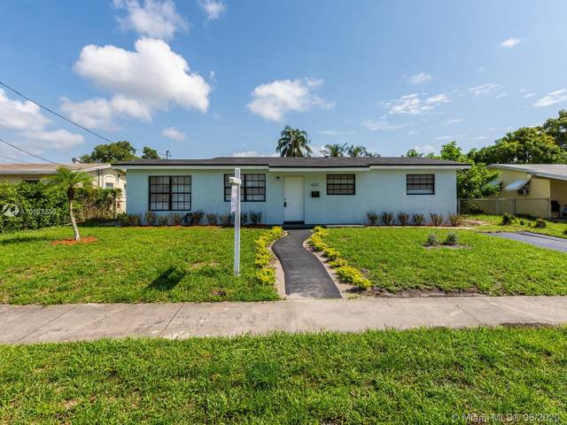 4321 NW 34th Ct, Lauderdale Lakes, FL 33319 (MLS #A10863259) :: The Howland Group