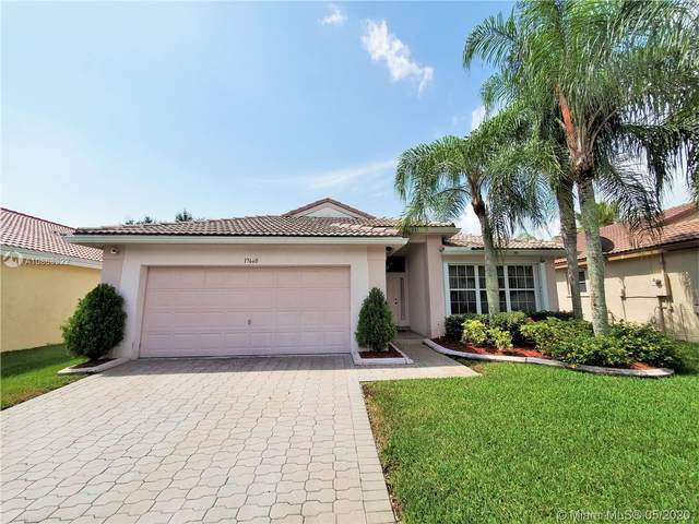 17660 SW 29th Ct, Miramar, FL 33029 (MLS #A10863322) :: The Jack Coden Group