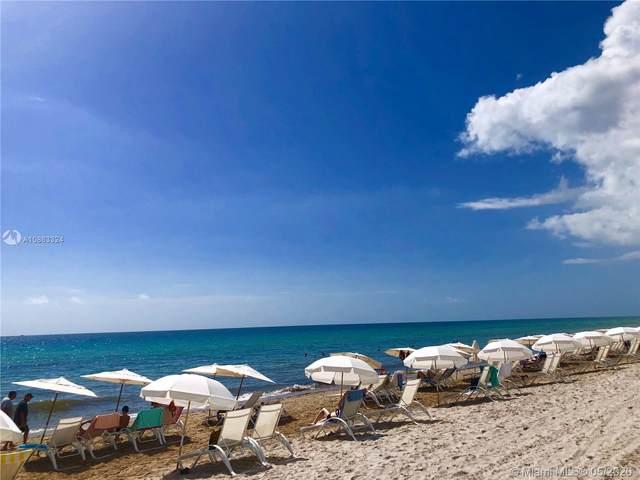 1850 S Ocean Dr #2608, Hallandale Beach, FL 33009 (MLS #A10863324) :: The Riley Smith Group