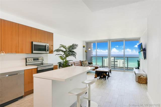 100 Bayview Dr #1409, Sunny Isles Beach, FL 33160 (MLS #A10864388) :: The Paiz Group