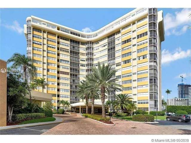 100 Golden Isles Dr #113, Hallandale Beach, FL 33009 (MLS #A10864742) :: Julian Johnston Team