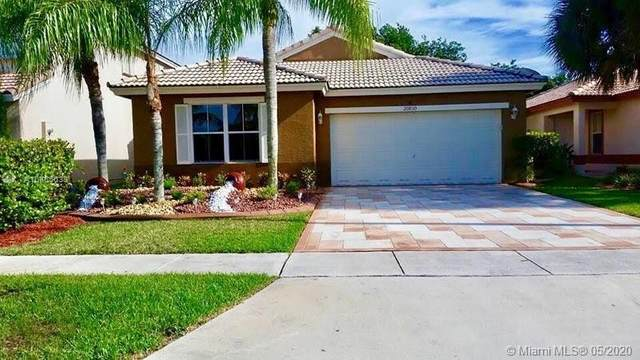 20830 NW 14th St, Pembroke Pines, FL 33029 (MLS #A10865633) :: Castelli Real Estate Services