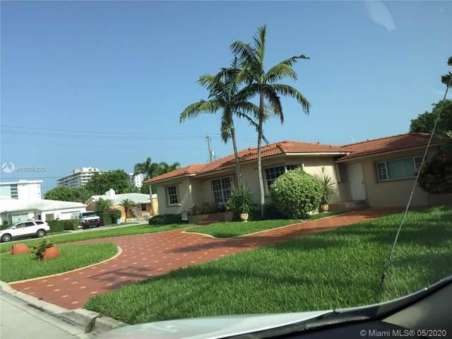 500 93rd St, Surfside, FL 33154 (MLS #A10865820) :: Grove Properties