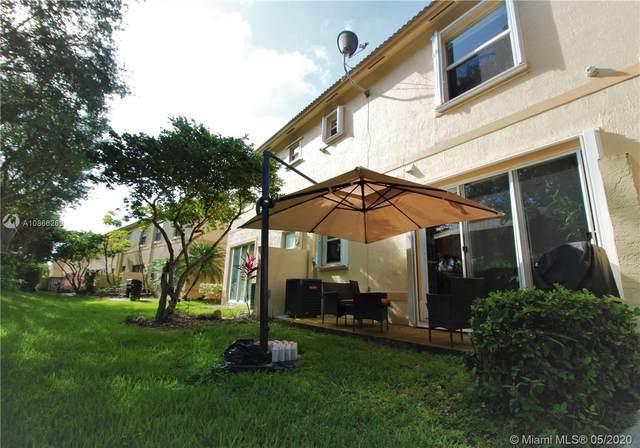 877 NW 170th Ter #7, Pembroke Pines, FL 33028 (MLS #A10866269) :: Green Realty Properties