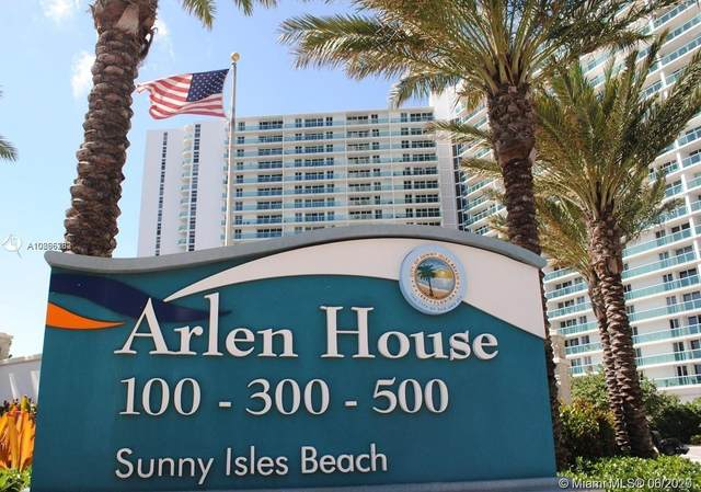 100 Bayview Dr #206, Sunny Isles Beach, FL 33160 (MLS #A10866382) :: The Riley Smith Group