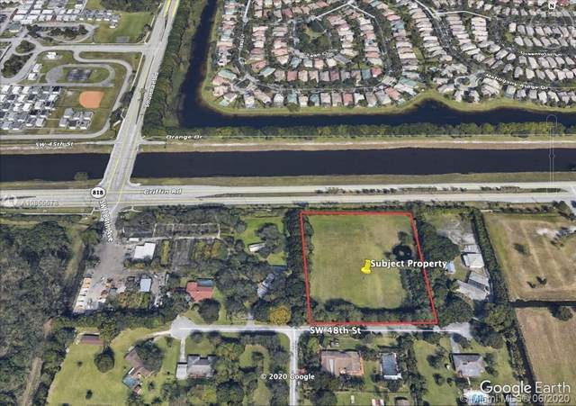 48 SW 182 Ave, Southwest Ranches, FL 33331 (MLS #A10866678) :: THE BANNON GROUP at RE/MAX CONSULTANTS REALTY I