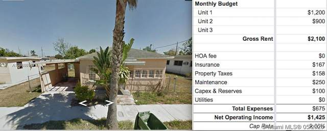 439 SW 7th Ave, Homestead, FL 33030 (MLS #A10866896) :: Berkshire Hathaway HomeServices EWM Realty
