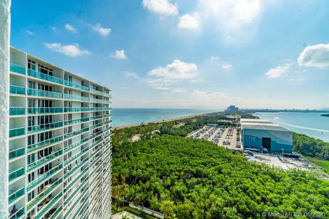 100 Bayview Dr #2024, Sunny Isles Beach, FL 33160 (MLS #A10867859) :: United Realty Group