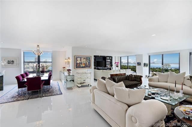 5500 Collins Ave #2303, Miami Beach, FL 33140 (MLS #A10867860) :: Berkshire Hathaway HomeServices EWM Realty