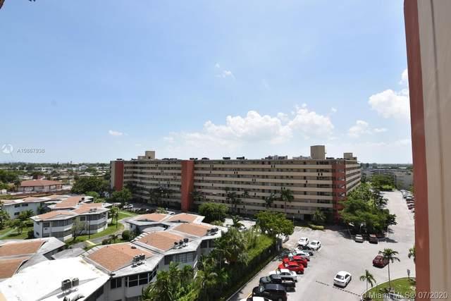1750 NE 191st St 822-3, North Miami Beach, FL 33179 (MLS #A10867938) :: Berkshire Hathaway HomeServices EWM Realty