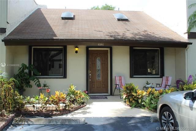 686 NE 1st St #686, Dania Beach, FL 33004 (#A10868209) :: Dalton Wade