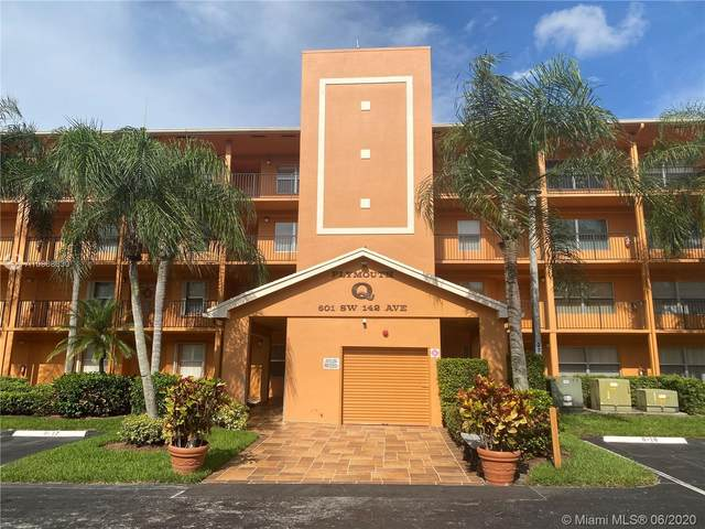 601 SW 142nd Ave 210Q, Pembroke Pines, FL 33027 (#A10868630) :: Real Estate Authority