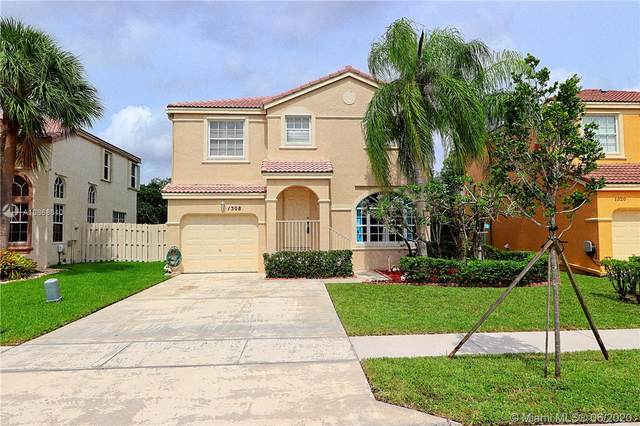 1308 NW 159th Ln, Pembroke Pines, FL 33028 (MLS #A10868810) :: THE BANNON GROUP at RE/MAX CONSULTANTS REALTY I