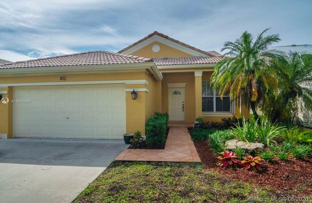 812 Savannah Falls Dr, Weston, FL 33327 (MLS #A10868886) :: THE BANNON GROUP at RE/MAX CONSULTANTS REALTY I