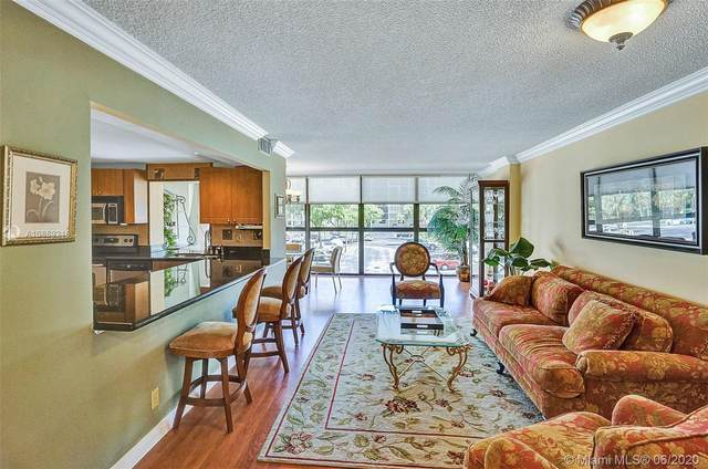 400 Leslie Dr #215, Hallandale Beach, FL 33009 (MLS #A10869216) :: THE BANNON GROUP at RE/MAX CONSULTANTS REALTY I
