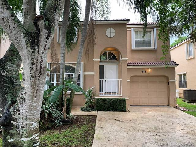 416 NW 87th Ln, Coral Springs, FL 33071 (MLS #A10869291) :: GK Realty Group LLC