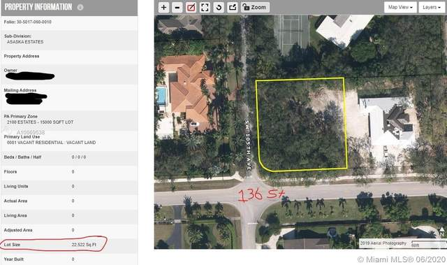 13555 SW 105th Ave, Miami, FL 33176 (MLS #A10869538) :: THE BANNON GROUP at RE/MAX CONSULTANTS REALTY I