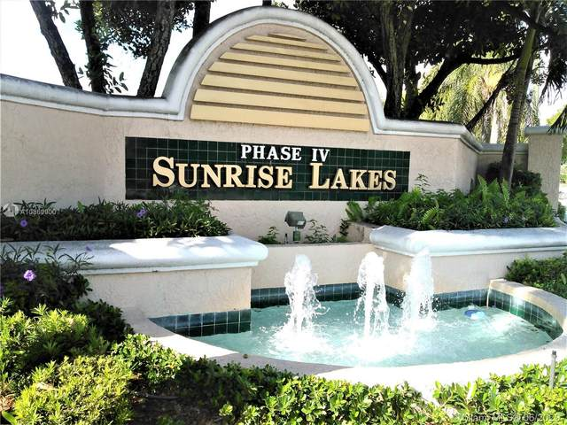 10331 Sunrise Lakes Blvd #309, Sunrise, FL 33322 (MLS #A10869900) :: THE BANNON GROUP at RE/MAX CONSULTANTS REALTY I