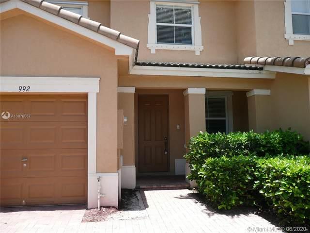 992 NE 42nd Ave #992, Homestead, FL 33033 (#A10870067) :: Dalton Wade