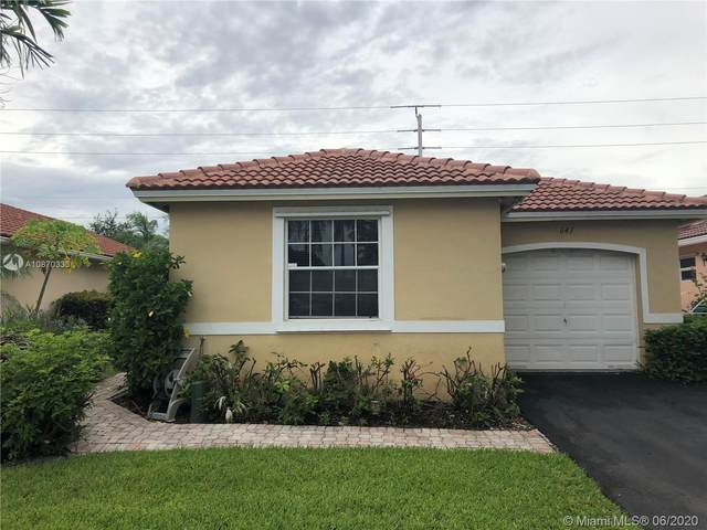 641 NW 172nd Ter, Pembroke Pines, FL 33029 (MLS #A10870333) :: Green Realty Properties
