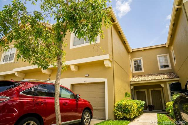4331 SW 131st Ln #3102, Miramar, FL 33027 (MLS #A10871165) :: THE BANNON GROUP at RE/MAX CONSULTANTS REALTY I