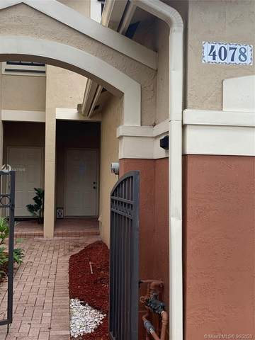 4078 Timber Cove Ln #4078, Weston, FL 33332 (MLS #A10871515) :: THE BANNON GROUP at RE/MAX CONSULTANTS REALTY I