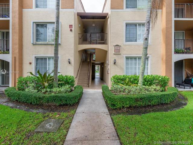 2041 Renaissance Blvd #206, Miramar, FL 33025 (MLS #A10872217) :: Lucido Global