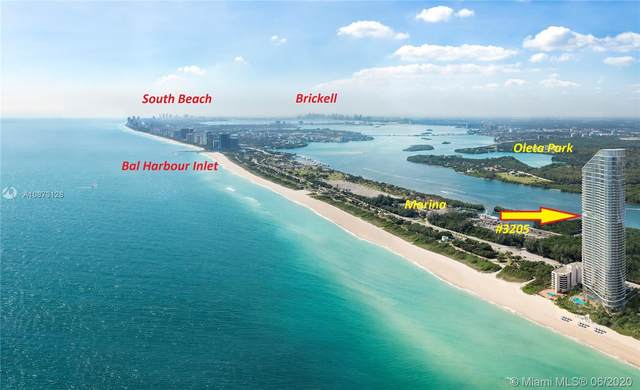 15701 Collins #3205, Sunny Isles Beach, FL 33160 (MLS #A10873128) :: The Riley Smith Group