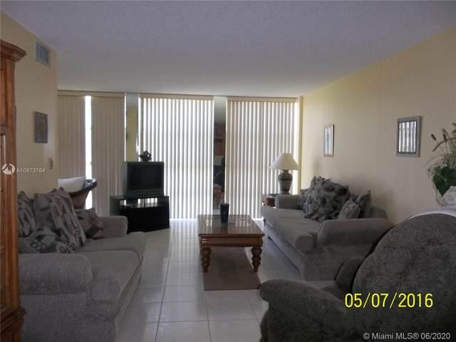 801 Three Islands Blvd #303, Hallandale Beach, FL 33009 (MLS #A10873794) :: Berkshire Hathaway HomeServices EWM Realty