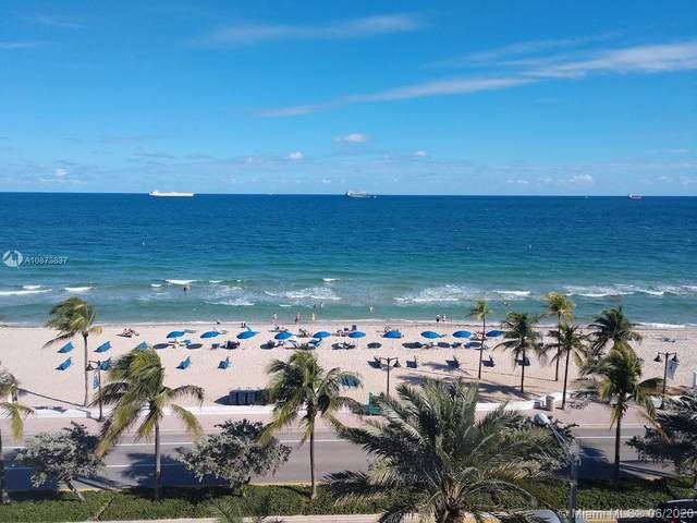505 N Fort Lauderdale Beach Blvd #714, Fort Lauderdale, FL 33304 (MLS #A10873837) :: Castelli Real Estate Services