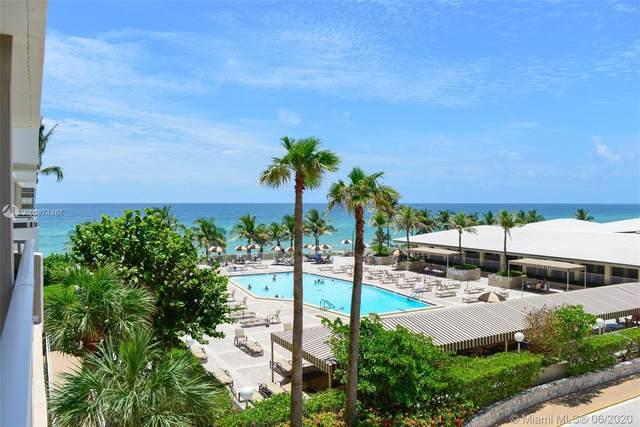 1950 S Ocean Dr 3G, Hallandale Beach, FL 33009 (MLS #A10874467) :: The Riley Smith Group