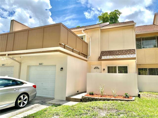 845 NW 80th Ter #6, Plantation, FL 33324 (MLS #A10875554) :: The Teri Arbogast Team at Keller Williams Partners SW