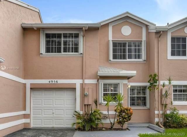 4956 SW 123rd Ter, Cooper City, FL 33330 (MLS #A10875705) :: Green Realty Properties