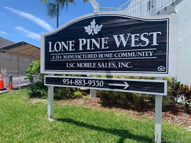 332 W Lone Pine Lane, Hallandale Beach, FL 33009 (MLS #A10876069) :: The Teri Arbogast Team at Keller Williams Partners SW
